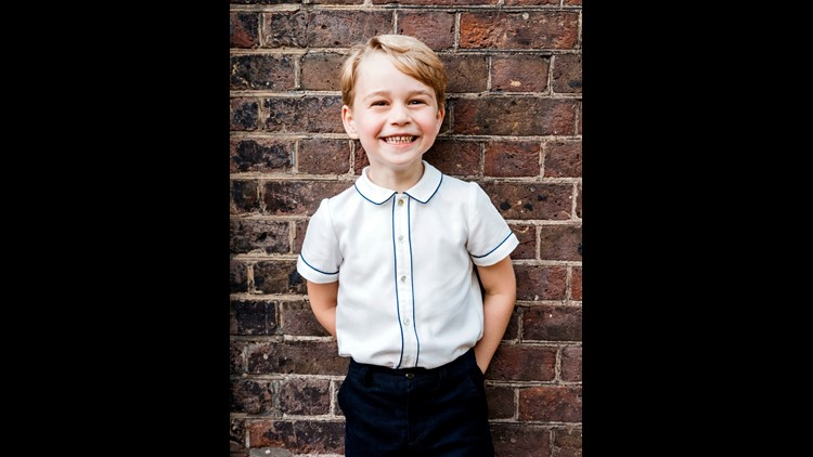 Birthday Boy Prince George: Five cutest pictures of the future king
