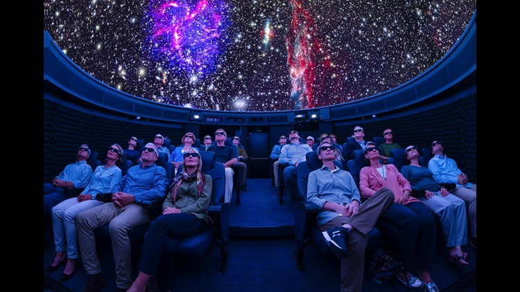 The Explorers' Dome on Viking Cruises' Viking Orion will use the latest in planetarium technology to offer shows about space and exploration.