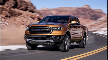 New Ford Ranger midsize pickup touts fuel economy of 26 miles per gallon on highway