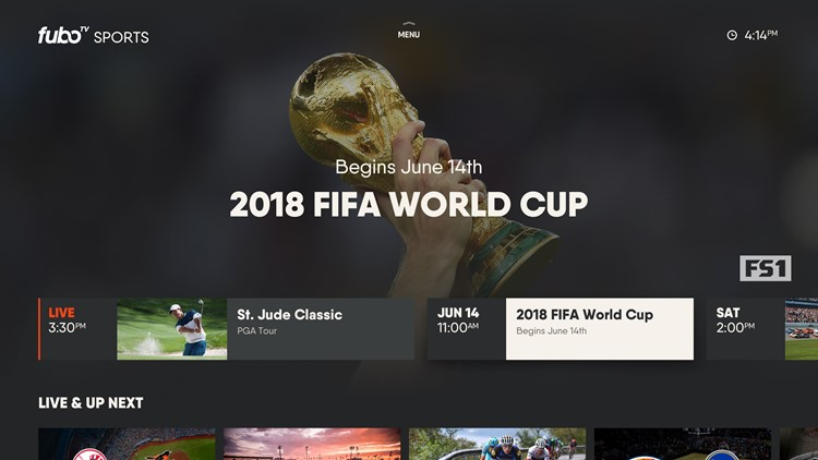 Subscription streaming service fuboTV has many ways to watch the World Cup including Fox, FS1, Telemundo and NBC Universo.