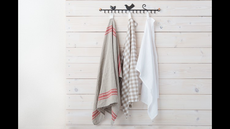 Your kitchen towels could give you food poisoning, study suggests