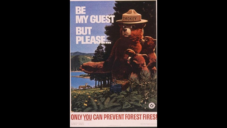 SMOKEY BEAR CELEBRATES 70th BIRTHDAY AND REMINDS AMERICANSÉÒONLY YOU CAN PREVENT WILDFIRESÓ  U.S. Forest Service, the National Association of State Foresters, and the Ad Council honor iconic PSA figure with Washington, D.C. birthday celebration, Instagram