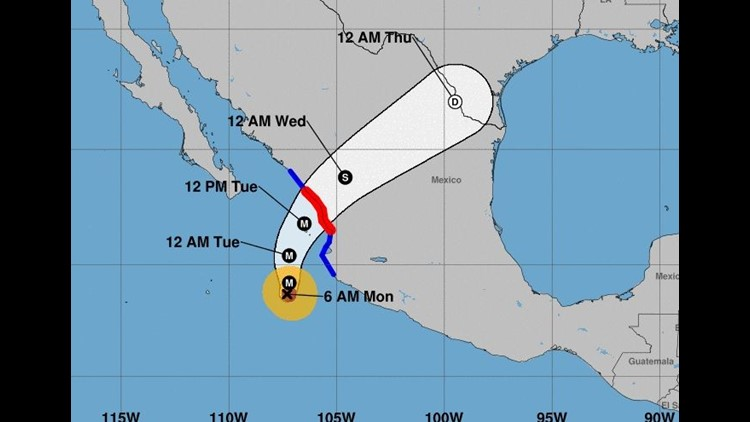 Hurricane Willa Airlines Cancel Mexico Flights Waive Rebooking Cbs News 8 San Diego Ca