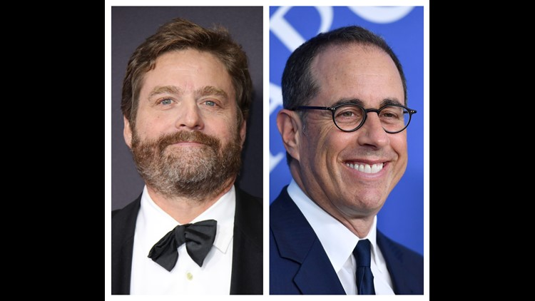 Zach Galifianakis and Jerry Seinfeld