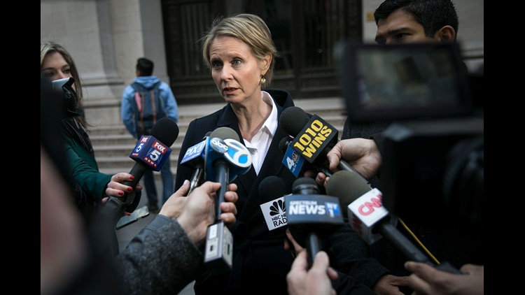 In March, Cynthia announced that she would challenge incumbent Andrew Cuomo in the Democratic primary for governor of New York. Since the end of Sex and the City, she's also won two Tony Awards, a Grammy and an Emmy.