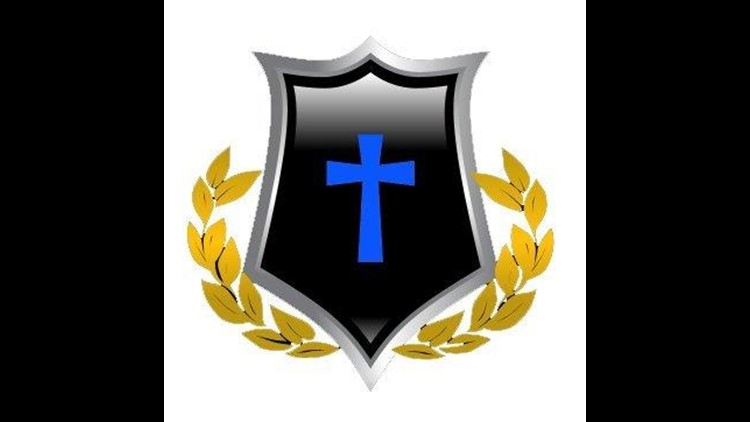 Logo of Divine Truth Ministries, which describes itself as a white supremacy-based Christian church.