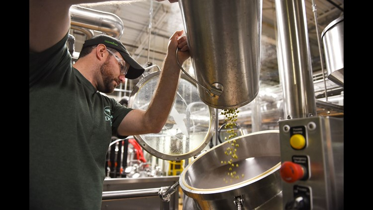 Dogfish Head Craft Brewery in Milton, Delaware, is one of about 1,000 breweries joining Sierra Nevada Brewing Co. in making Resilience Butte County IPA, the proceeds of which will support Camp Fire relief efforts.