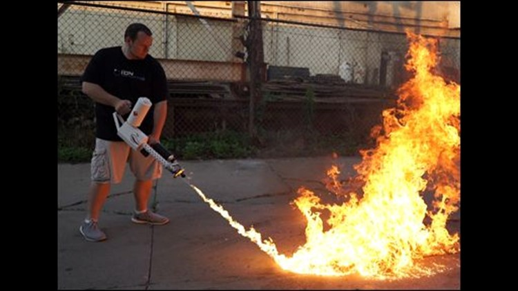 Owners of Elon Musk's 'Not A Flamethrower' are incinerating everything
