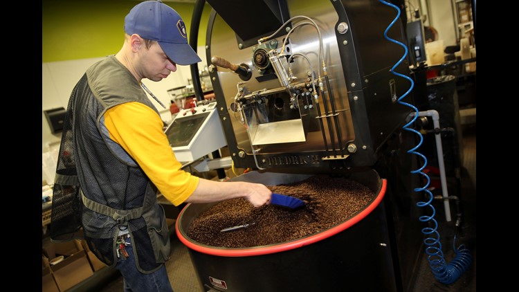 Ten coffee-roasting operations were found to have elevated levels of dangerous chemicals in the air, making workers sick. The CDC is due to release nine more reports in the coming months.