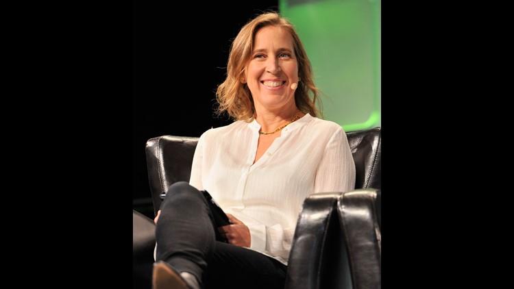 CEO of YouTube Susan Wojcicki speaks onstage during TechCrunch Disrupt SF 2016 at Pier 48 on September 14, 2016
