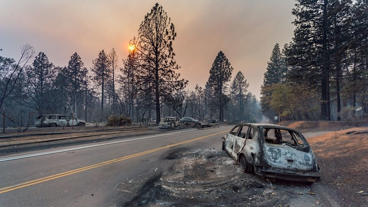 Trump to view California fire devastation he blamed on forest mismanagement