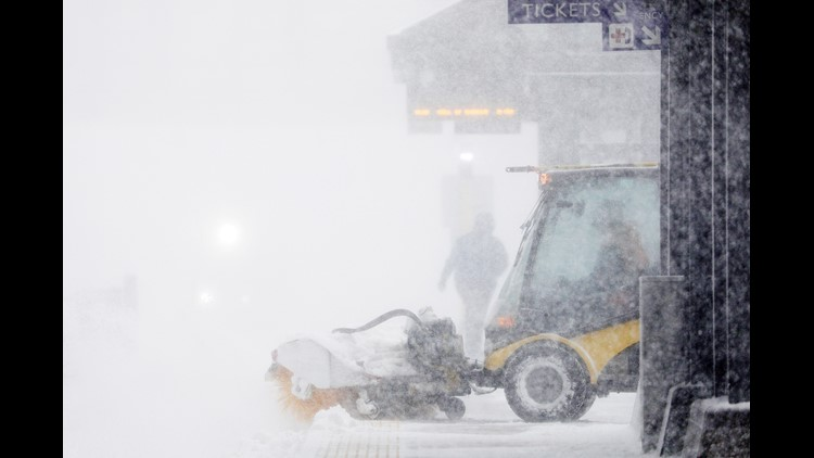 A massive storm system is bringing blizzards, tornadoes, high winds, fire danger and heavy snow to much of the United States Saturday and Sunday.