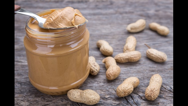 Jar of peanut butter with nuts. Credit: Getty Images