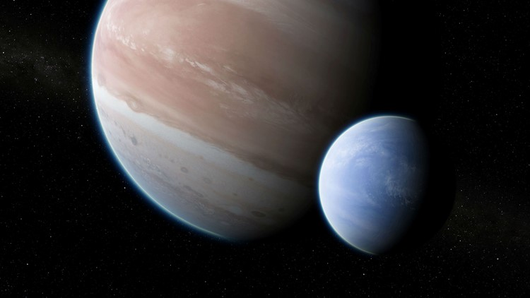 Suspected Exomoon Spotted 8,000 Light-Years Away