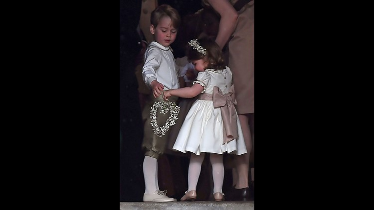 This ain't their first rodeo: Prince George and Princess Charlotte were also in Aunt Pippa Middleton's wedding last summer.