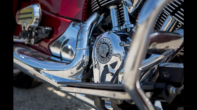 Twisted Road has about 600 bikes for rent, including David Anderson's 2016 Indian Springfield.