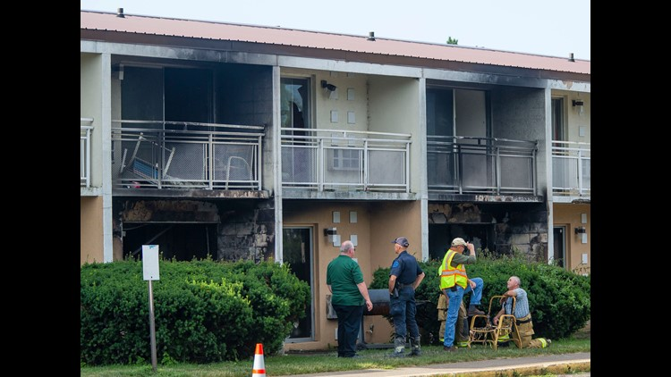 Memorial set up for mother, five children killed in fire