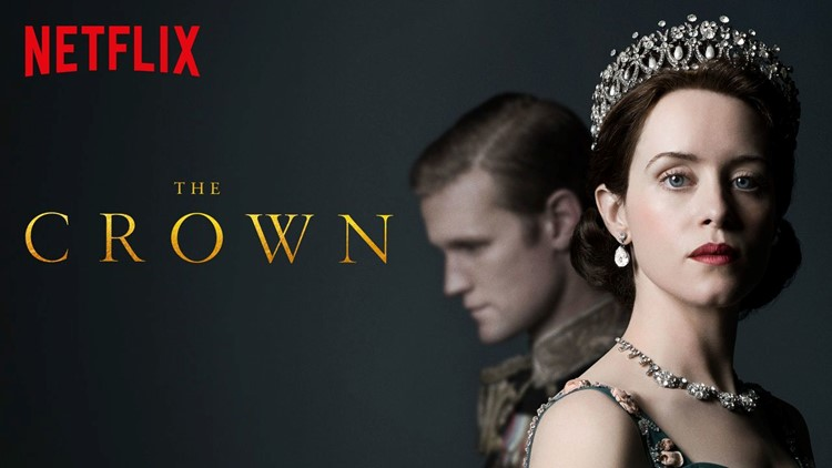 """""""Crown,"""" on Netflix."""
