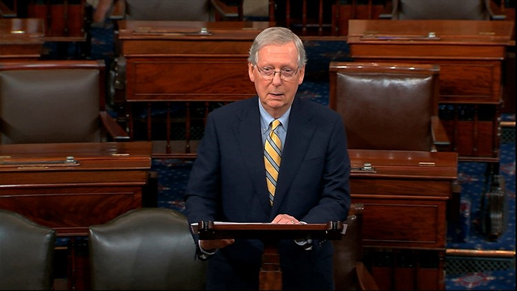 McConnell: 'Mob' Protesting Kavanaugh Was a 'Great Political Gift' to Republicans
