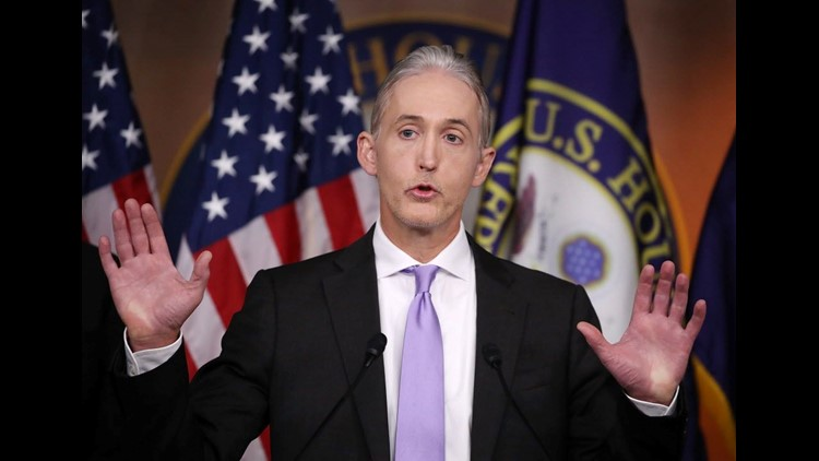 Key Republican Trey Gowdy defends Federal Bureau of Investigation against Trump attacks