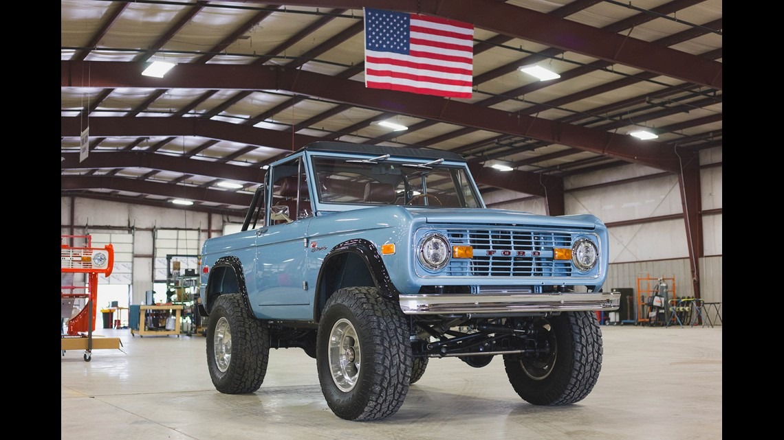 Companies will build you a 'new' 1960s Ford Bronco — for $200,000 | wbir.com