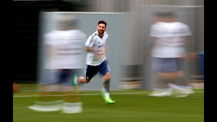 Argentina's Lionel Messi is ready to make what may be his last run at a World Cup title.