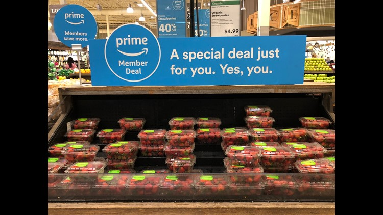 Discounts for Amazon Prime member are now available at Whole Foods Market 365 stores nationwide and at Whole Foods Market stores in a growing number of states. The program will extend nationwide this summer.