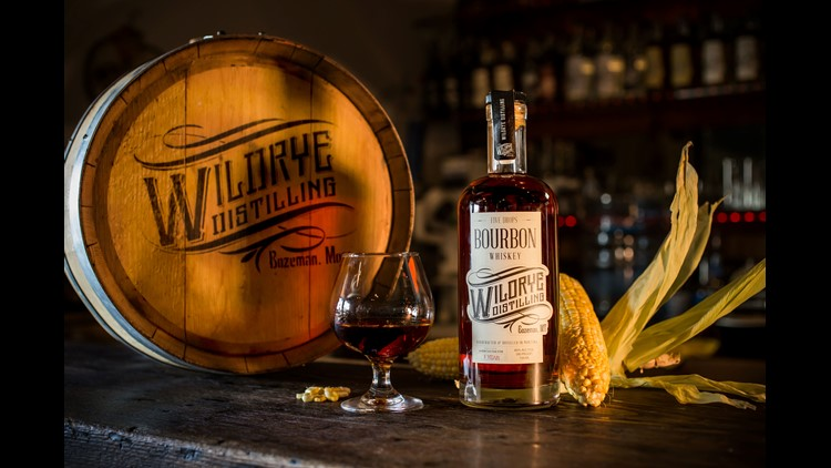 In Bozeman, Mont., Wildrye Distilling's Five Drops Bourbon is made from a mash bill of sweetcorn (grown by the distillery CEO's father-in-law) and barley, with no other flavoring grains like rye or wheat. The bourbon is aged in small charred oak barrels f