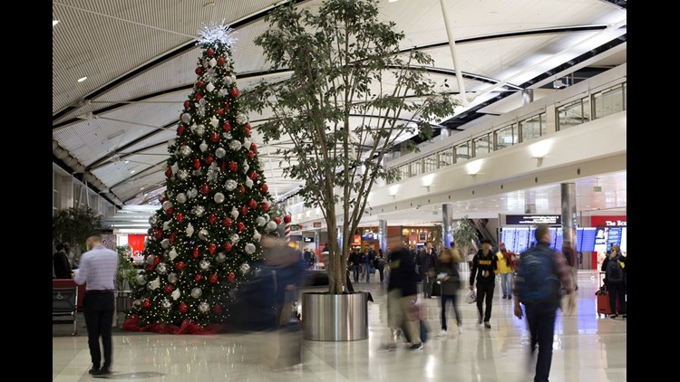 Christmas travel will rise 5.2 percent, airline group says