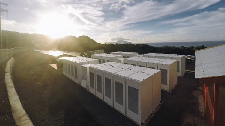 Tesla Power packs, paired with solar power generation, enable Ta'u to access dependable energy during the day and night.