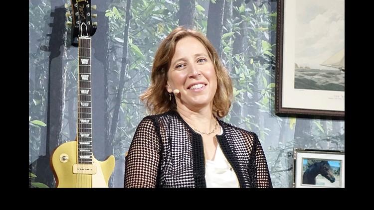 YouTube CEO Susan Wojcicki.at VidCon