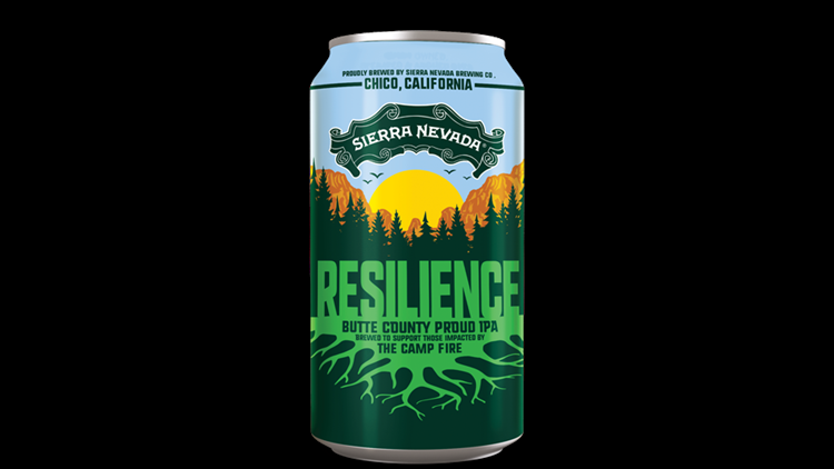 Sierra Nevada Brewing Co. in Chico, California, in making Resilience Butte County Proud IPA, the proceeds of which will support Camp Fire relief efforts.