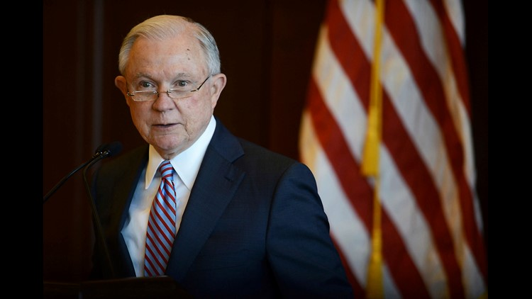 U.S. Attorney General Jeff Sessions speaks on immigration policy and law enforcement actions at Lackawanna College in downtown Scranton, Pa., on Friday, June 15, 2018.