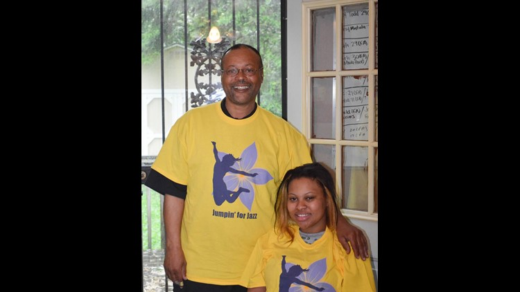 Virgil Harris is fighting for a cure for his daughter, Jazmyne, and others who suffer Friedreich's ataxia.
