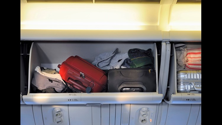 In order to avoid checked-baggage fees, more people are flaunting carry-on rules as they seize precious bin space.