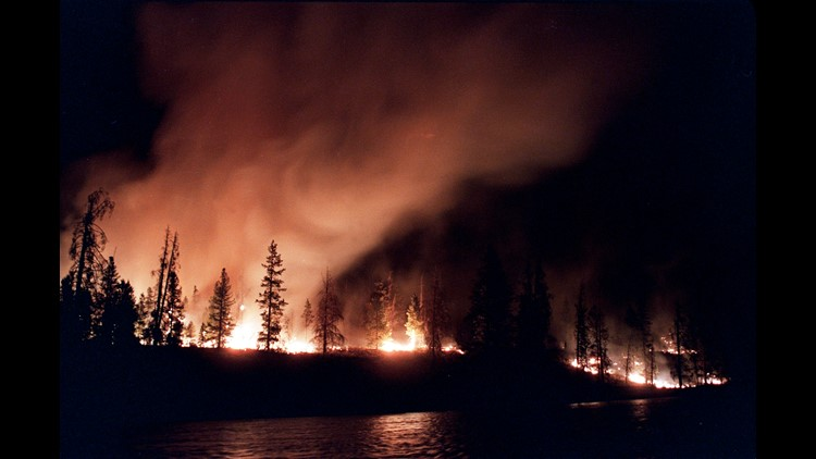 Ap Yellowstone Fires A File Usa Wy