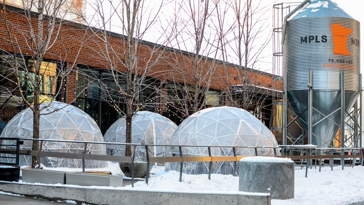 Magical domes allow you to rock the patio all winter