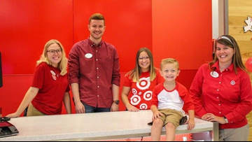 5-year-old's dream to work at Target becomes true for his birthday