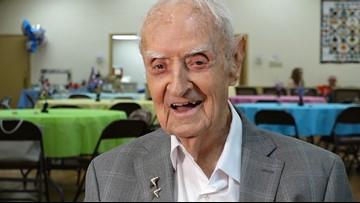 Texas WWII veteran celebrates 100th birthday