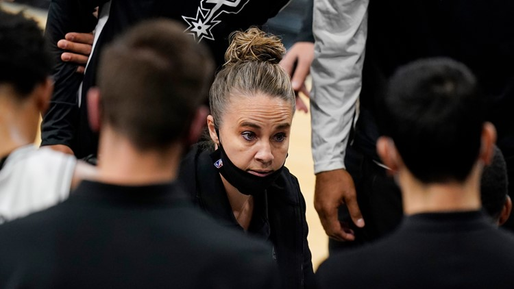 Spurs' Becky Hammon first woman to direct NBA team