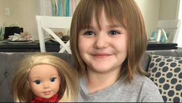 4-year-old girl overcomes cancer after 3 years