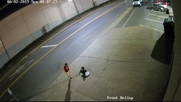Watch: Second video shows another group of people climbing out of sewer in NW Portland