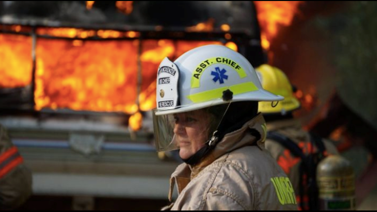 Oregon fire chief loses home to Holiday Farm Fire while out battling the blaze