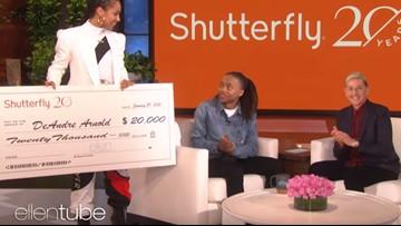 Ellen, Alicia Keys had a big surprise for the Mont Belvieu teen who refuses to cut his dreadlocks