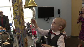 4-year-old Texas boy survives rare form of cancer