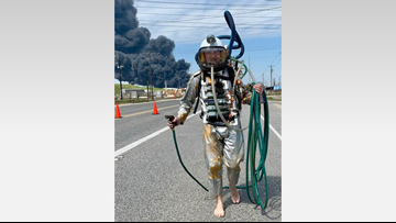 Wanna-be firefighter turned away from Deer Park fire scene