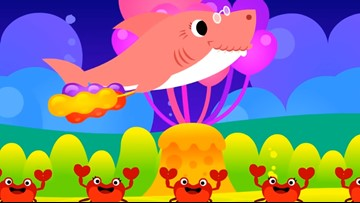 Warning: Baby Shark now has a Valentine's Day song