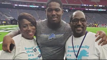 Longshot rookie playing for dad with cancer makes NFL team