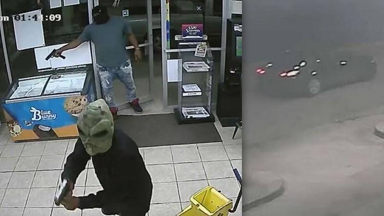 2 men in creepy masks shoot, kill Houston Valero store clerk
