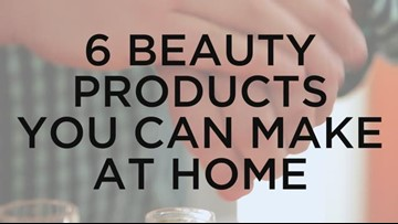 6 Easy Homemade Beauty Products